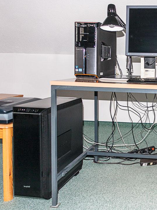 Neuer und alter PC