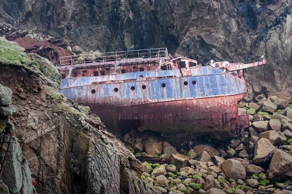 Wrack der RMS Mülheim