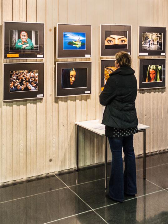 Bilder der GfF-Ausstellung