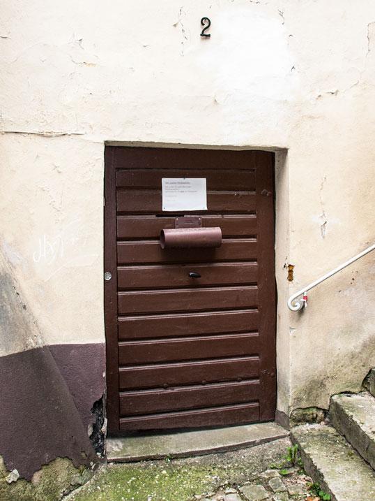 Suchbild Briefschlitz