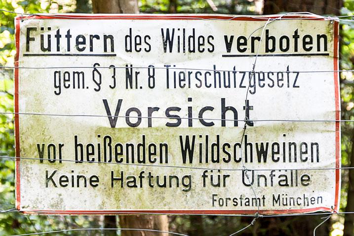 Begrüßung im Forstenrieder Park