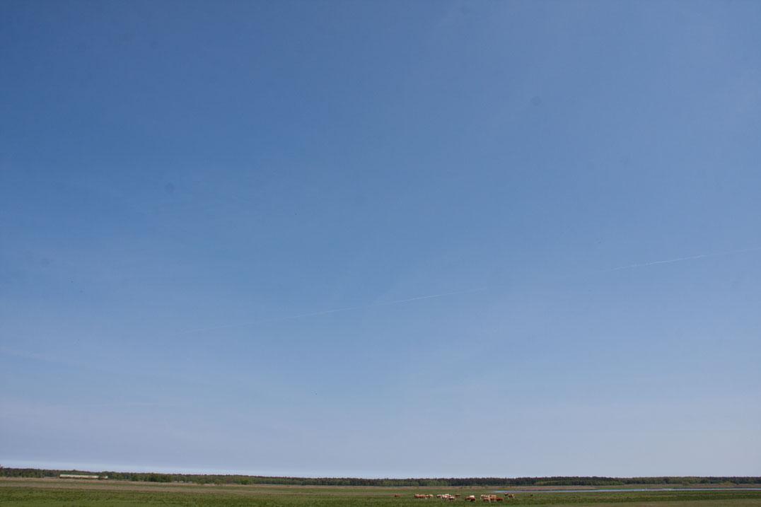 Himmel als Hintergrund
