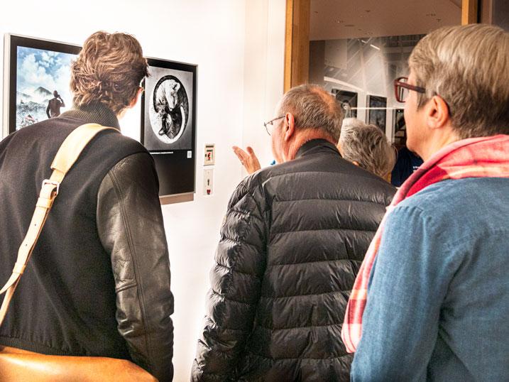 Yin und Yang in der Ausstellung