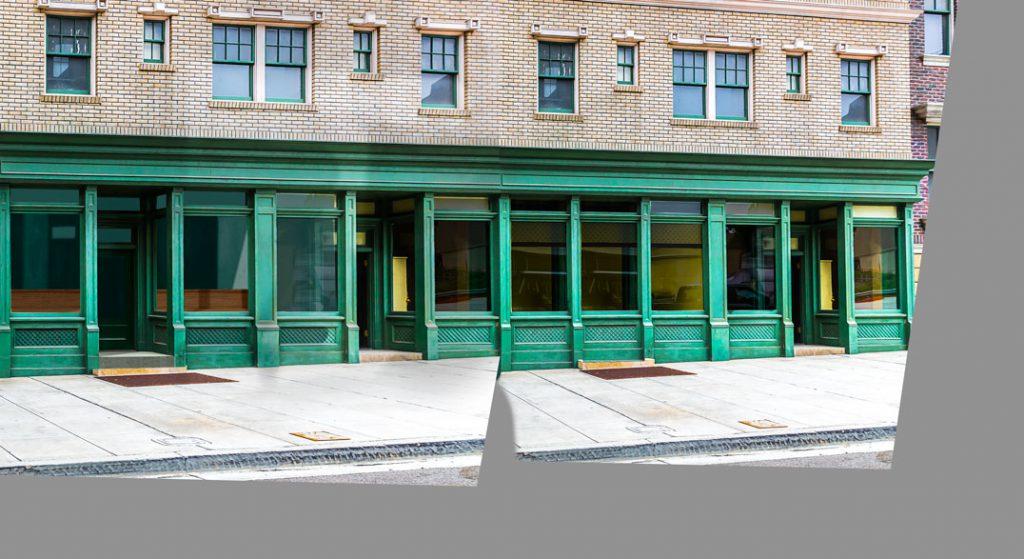 Anpassung Erdgeschoss