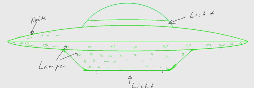 Skizze als Vorlage für 3D-Modell